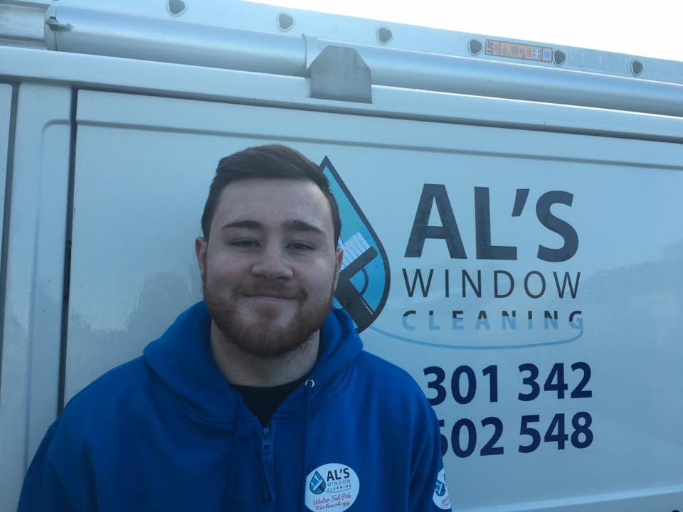 A New Member Of The Team For Al S Window Cleaning
