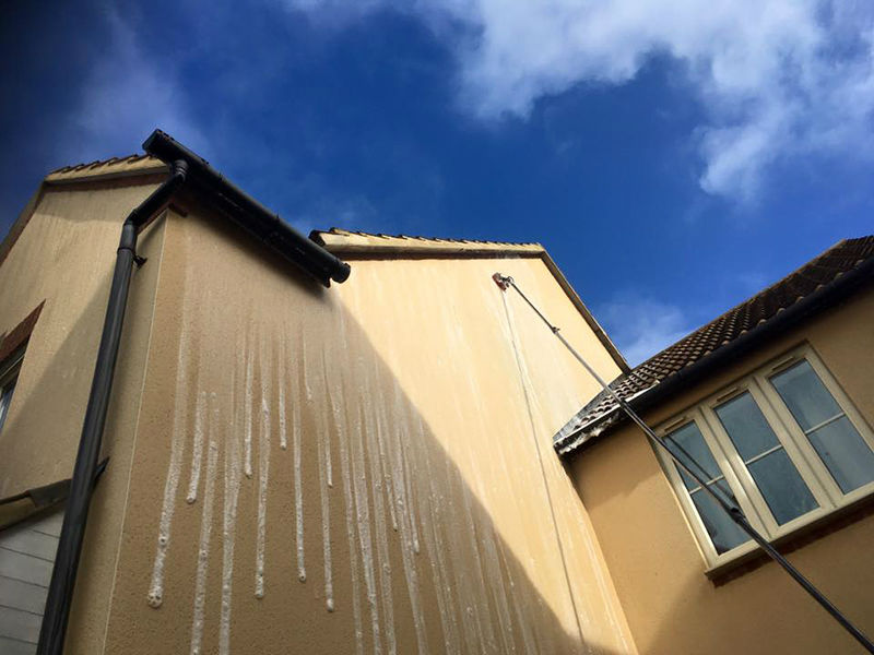 Best render cleaning Gloucester, Gloucestershire