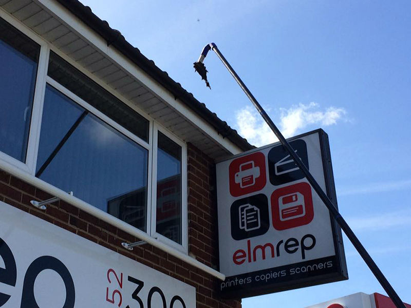 Gutter cleaning Tewkesbury, Gloucestershire